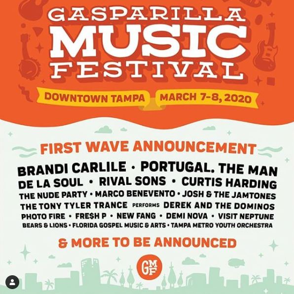 gasparilla music fest
